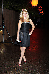 ALICE EVE at the annual Serpentine Gallery Summer Party in Kensington Gardens, London on 9th September 2008.
