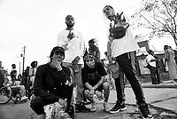 Loaf Muzik performs at the Afropunk festival in Atlanta