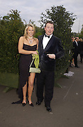 The Earl and Countess of Iveagh, Game Conservancy 26th London Ball, Battersea Park. 13 May 2004. SUPPLIED FOR ONE-TIME USE ONLY> DO NOT ARCHIVE. © Copyright Photograph by Dafydd Jones 66 Stockwell Park Rd. London SW9 0DA Tel 020 7733 0108 www.dafjones.com