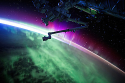 EARTH Aboard the International Space Station -- 15 Aug 2015 -- NASA astronaut Scott Kelly took this remarkable image of an aurora during his Year in Space mission aboard the International Space Station --. EXPA Pictures © 2016, PhotoCredit: EXPA/ Photoshot/ Scott Kelly/Atlas Photo Archive/<br /><br />*****ATTENTION - for AUT, SLO, CRO, SRB, BIH, MAZ, SUI only*****