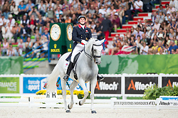 Michael Eilberg, (GBR), Half Moon Delphi - Freestyle Grand Prix Dressage - Alltech FEI World Equestrian Games™ 2014 - Normandy, France.<br /> © Hippo Foto Team - Jon Stroud<br /> 25/06/14