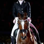 NLD/Amsterdam/20190125- Jumping Amsterdam 2019, Britt Dekker op haar paard