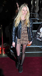 © under license to London News Pictures. 11/03/2011. Clare Paget Attends the press night of The Hurly Burly Show at the Garrick Theatre London . Photo credit should read Alan Roxborough/LNP