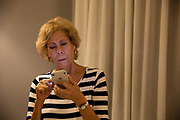 Baby Boomer on phone