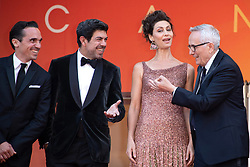 Luigi Lo Cascio, Maria Fernanda Canido, Pierfrancesco Favino and Marco Bellocchio attending the Il Traditore Premiere as part of the 72nd Cannes International Film Festival in Cannes, France on May 23, 2019. Photo by Aurore Marechal/ABACAPRESS.COM