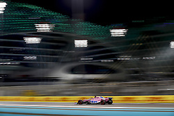 November 23, 2018 - Abu Dhabi, United Arab Emirates - Motorsports: FIA Formula One World Championship 2018, Grand Prix of Abu Dhabi, World Championship;2018;Grand Prix;Abu Dhabi, #11 Sergio Perez (MEX, Sahara Force India F1 Team) (Credit Image: © Hoch Zwei via ZUMA Wire)