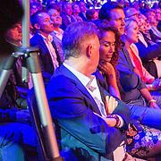 NLD/Amsterdam/20161004 - Wereldpremiere van Inspiration360 2016, Marcel Boekhoorn en onbekende dame