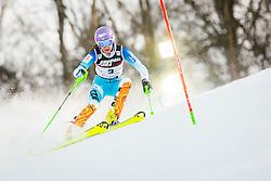 "Sarka Strachova (CZE) during FIS Alpine Ski World Cup 2016/17 Ladies Slalom race named ""Snow Queen Trophy 2017"", on January 3, 2017 in Course Crveni Spust at Sljeme hill, Zagreb, Croatia. Photo by Žiga Zupan / Sportida"