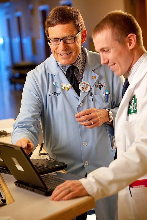 Litchfield St Francis, Dr Jerome Epplin, med student Heath Laughlin  (Mike Roemer Photo)