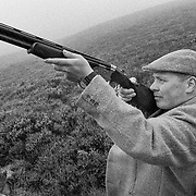 The Head Game keeper Gavin Hannam  of Glen Lethnot estate checks the guns<br /> in the build up  to the Glorious 12th, the official start of the red grouse shooting season (this year Monday 13th August)  ANGUS, SCOTLAND AUG 10 <br /> <br /> The Glorious Twelfth is usually used to refer to August 12, the start of the open season for grouse shooting in the United Kingdom. This is one of the busiest days in the shooting season, with large amounts of game being shot. It is also a major boost to the rural economy. <br /> <br /> Since the start of the season traditionally does not begin on a Sunday, it is sometimes postponed to August 13, as in 2001 . In recent years, the event has been hit by hunt saboteurs, the 2001 foot and mouth crisis (which further postponed the date in affected areas ) and the effect of sheep tick and the gut parasite Trichostrongylus tenius.<br /> <br /> The Game Conservancy Trust conducts scientific research into Britain's game and wildlife. Advising farmers and landowners on improving wildlife habitat and lobbying for agricultural and conservation policies based on science.<br /> Many of their  supporters take part in field sports.