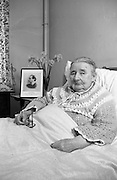 22/03/1966<br /> 03/22/1966<br /> 22 March 1966<br /> Senator Miss Margaret Pearse at Linden Convalescent Home, Blackrock, Co. Dublin.