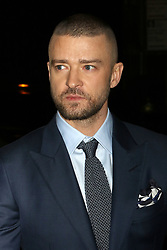 """Justin Timberlake attends a screening of """"Wonder Wheel"""" at the Museum of Modern Art in New York."""