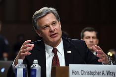 FBI Director Wray And Justice IG Horowitz Testify At Senate Hearing On FBI Report - 18 June 2018