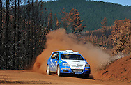 Glen RAYMOND & Matt RAYMOND .Toyota  Corolla Sportivo.Motorsport-Rally/2009 Forest Rally .Heat 1.4th of April 2009.Nannup, Western Australia.(C) Joel Strickland Photographics