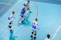 Steven Ottevanger of Lycurgus, Thomas Douglas Powell of Lycurgus in action during the league match between Draisma Dynamo vs. Amysoft Lycurgus on March 13, 2021 in Apeldoorn.