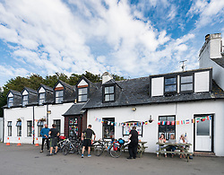 Applecross Inn pub and hotel in Applecross peninsula in Scotland, United Kingdom