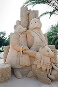 Goldilocks and the Three Bears Sand Sculpture