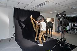 Henk van Cauwenbergh, Lauren Vanlerberghe<br /> Foto shoot met Henk van Cauwenbergh voor KBRSF - Zaventem 2018<br /> © Hippo Foto - Dirk Caremans<br /> 01/05/2018
