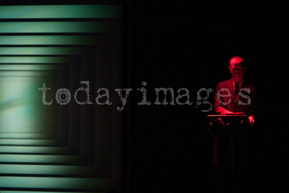 Atom performing at La Casa Encendida in Madrid in 2009