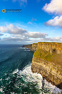 The Cliffs of Moher in County Clare Ireland