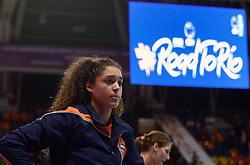 09-01-2016 TUR: European Olympic Qualification Tournament Rusland - Nederland, Ankara<br /> De Nederlandse volleybalsters hebben de finale van het olympisch kwalificatietoernooi tegen Rusland verloren. Oranje boog met 3-1 voor de Europees kampioen (25-21, 22-25, 25-19, 25-20) / Celeste Plak #4