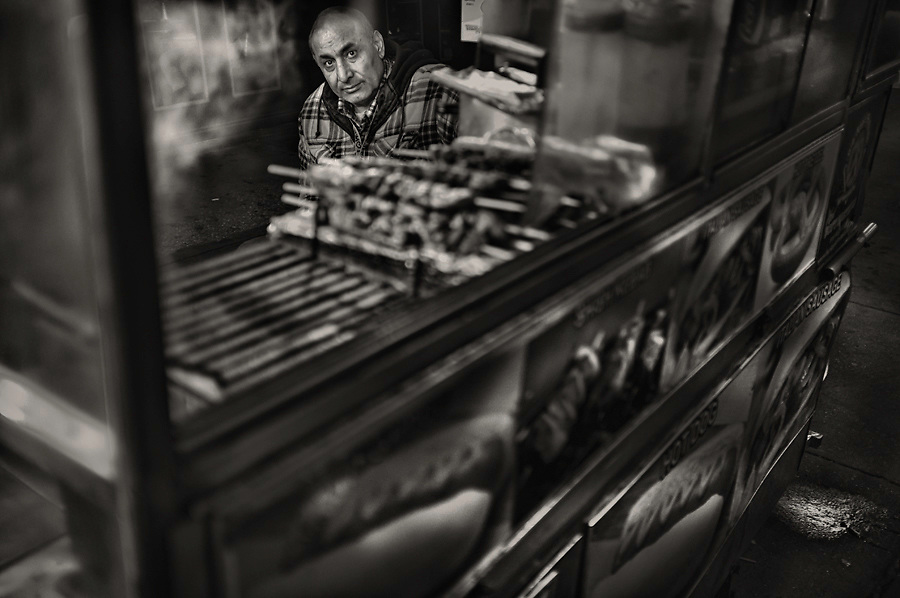 Food Vendor, NYC