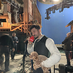 """Orlando Bloom releases a photo on Instagram with the following caption: """"imma still running here \u0026 these two getting me thru- my mighty pup \u0026 Yerba Mate- which is what I\u2019m sucking down that metal straw- it\u2019s the \ud83d\udca3 Guarani Indians use it to reduce tiredness, clear up mind and dismiss starvation..best alternative to coffee...according to the legend it was a friendship brew given by god\u2018s...and it\u2019s got flowers init...nuff said\ud83d\udc25"""". Photo Credit: Instagram *** No USA Distribution *** For Editorial Use Only *** Not to be Published in Books or Photo Books ***  Please note: Fees charged by the agency are for the agency's services only, and do not, nor are they intended to, convey to the user any ownership of Copyright or License in the material. The agency does not claim any ownership including but not limited to Copyright or License in the attached material. By publishing this material you expressly agree to indemnify and to hold the agency and its directors, shareholders and employees harmless from any loss, claims, damages, demands, expenses (including legal fees), or any causes of action or allegation against the agency arising out of or connected in any way with publication of the material."""