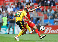 Eden Hazard (Belgium) scores the second personal goal<br /> Moscow 23-06-2018 Football FIFA World Cup Russia  2018 <br /> Belgium - Tunisia / Belgio - Tunisia <br /> Foto Matteo Ciambelli/Insidefoto