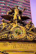 Grand Central Terminal, Statue of Mercury, Manhattan, New York