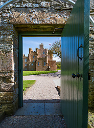 Castle of Mey on the North Coast 500 scenic driving route in northern Scotland, UK