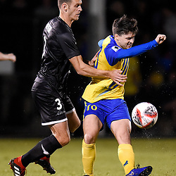 BRISBANE, AUSTRALIA - AUGUST 8:  during the Round of 32 Westfield FFA Cup match between Brisbane Strikers and Wellington Phoenix on August 8, 2019 in Brisbane, Australia. (Photo by Patrick Leigh Kearney)