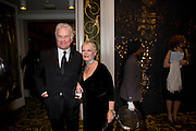 Sir Richard Eyre; Dame Judi Dench, The London Critics' Circle Film Awards 2009 in aid of the NSNCC. Grosvenor House Hotel . Park Lane. London. 4 February 2009 *** Local Caption *** -DO NOT ARCHIVE -Copyright Photograph by Dafydd Jones. 248 Clapham Rd. London SW9 0PZ. Tel 0207 820 0771. www.dafjones.com<br /> Sir Richard Eyre; Dame Judi Dench, The London Critics' Circle Film Awards 2009 in aid of the NSNCC. Grosvenor House Hotel . Park Lane. London. 4 February 2009
