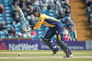 Graham Clark (Durham CCC) during the Royal London 1 Day Cup match between Yorkshire County Cricket Club and Durham County Cricket Club at Headingley Stadium, Headingley, United Kingdom on 3 May 2017. Photo by Mark P Doherty.