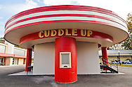 The Cuddle Up amusement park ride at Glen Echo Park, Maryland. WATERMARKS WILL NOT APPEAR ON PRINTS OR LICENSED IMAGES.