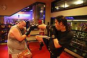 Death Metal band, Salem, leader singer, Ze'ev Tenenboim, Kick boxing