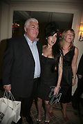 Father, Mitch Winehouse, Amy Winehouse and her stepmother, The South Bank Show Awards, Savoy Hotel. London. 23 January 2007.  -DO NOT ARCHIVE-? Copyright Photograph by Dafydd Jones. 248 Clapham Rd. London SW9 0PZ. Tel 0207 820 0771. www.dafjones.com.