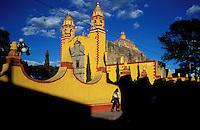 Mexique, Puebla, Village de Cholula // Mexico, Puebla state, Cholula village
