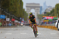 Sylvain Chavanel (FRA - Direct Energie) during the 105th Tour de France 2018, Stage 21, Houilles - Paris Champs-Elysees (115 km) on July 29th, 2018 - Photo Kei Tsuji / BettiniPhoto / ProSportsImages / DPPI