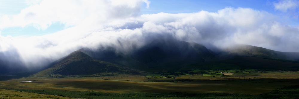 July 21, 2019 - Mount Brandon In Mist Near Dingle, Kerry, Ireland, Europe (Credit Image: © Peter Zoeller/Design Pics via ZUMA Wire)