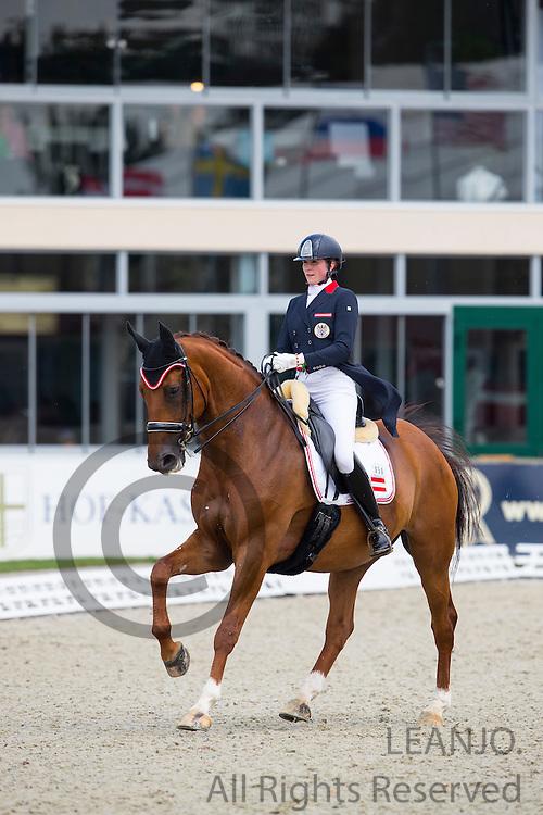Tatjana Svehla - Donaublick<br /> European Championships Dressage U25 2016<br /> © DigiShots