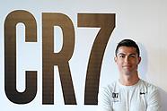 031317 Critiano Ronaldo presents Critiano Ronaldo presents CR7 Crunch Fitness in Madrid