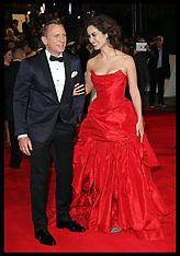 OCT 23 2012 World premiere of new James Bond film Skyfall