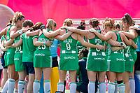 ANTWERP - BELFIUS EUROHOCKEY Championship.women  Ireland-Gemany (1-1).  Germany placed for semifinals . Irish team after the draw. WSP/ KOEN SUYK