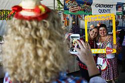 June 10, 2017 - Acontece neste sábado (10), na AACD unidade de Osasco, o Baile Junino, resgatando a tradição das festas juninas e com vários shows durante o dia. (Credit Image: © Aloisio Mauricio/Fotoarena via ZUMA Press)