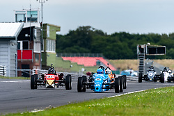Danny Hands pictured competing in the 750 Motor Club's Formula Vee Championship. Image captured at Snetterton on July 18, 2020 by 750 Motor Club's photographer Jonathan Elsey