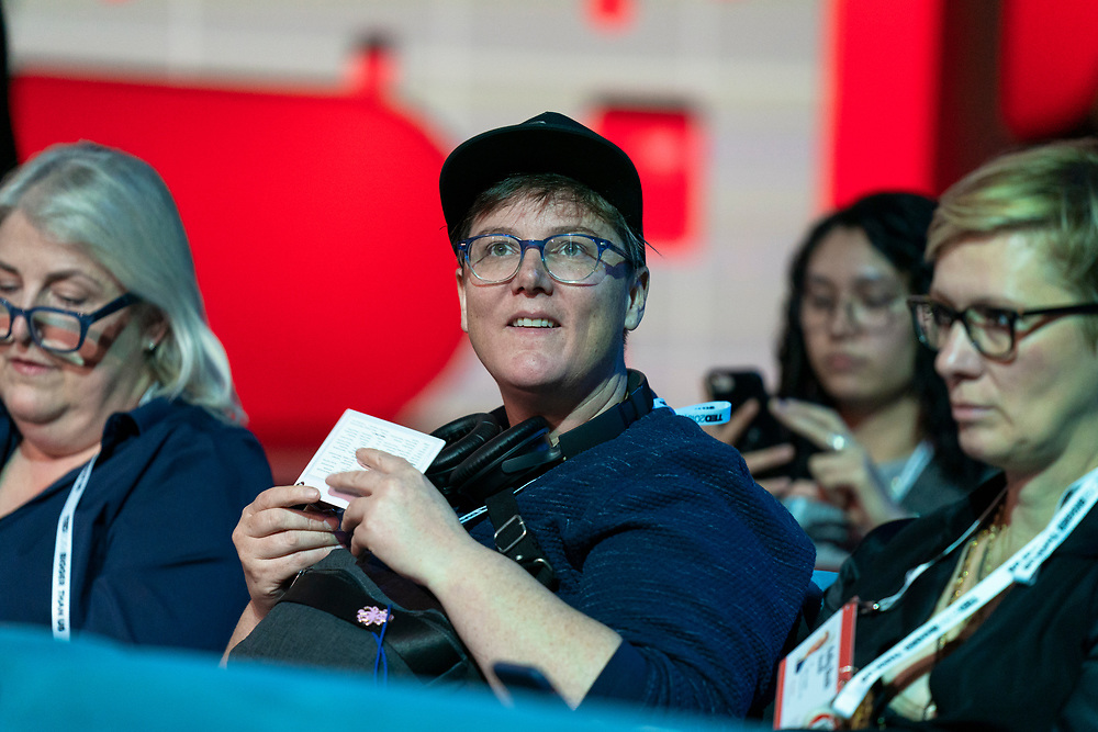Speaker Briefing at TED2019: Bigger Than Us. April 15 - 19, 2019, Vancouver, BC, Canada. Photo: Bret Hartman / TED