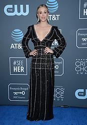24th Annual Critics Choice Awards - Press Room. 13 Jan 2019 Pictured: Kaley Cuoco. Photo credit: TPI/MEGA TheMegaAgency.com +1 888 505 6342