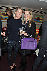 Left to right, FIONA McALPINE and ALEX BAMFORD at the launch of The Art of handmade Living by Willow Crossley held at George, 87-88 Mount Street, London on 11th October 2012.