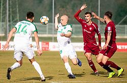 Tomislav Tomić of Olimpija  during Football match between NK Triglav and NK Olimpija Ljubljana in 22nd Round of Prva liga Telekom Slovenije 2018/19, on March 9, 2019, in Sports centre Kranj, Slovenia. Photo by Vid Ponikvar / Sportida
