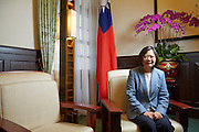 Interview with Taiwan's President Tsai Ing-wen at the Presidential Palace<br />